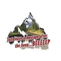 Decal Beep Beep
